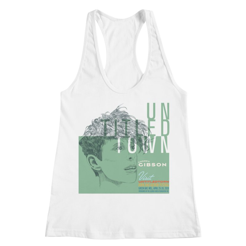 Andrea Gibson at UntitledTown Women's Racerback Tank by UntitledTown Store