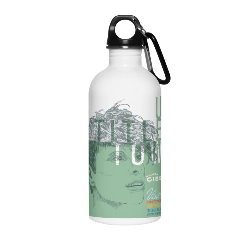 Andrea Gibson at UntitledTown Accessories Water Bottle by UntitledTown Store