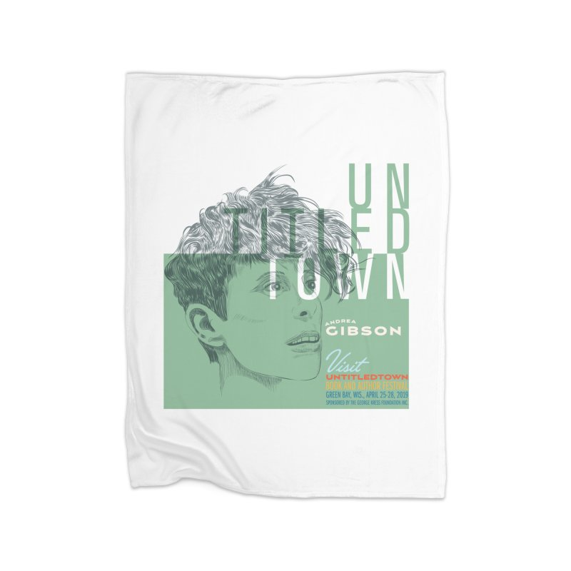 Andrea Gibson at UntitledTown Home Fleece Blanket Blanket by UntitledTown Store