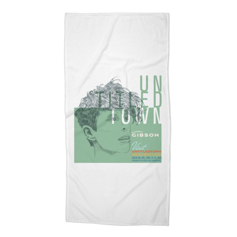 Andrea Gibson at UntitledTown Accessories Beach Towel by UntitledTown Store