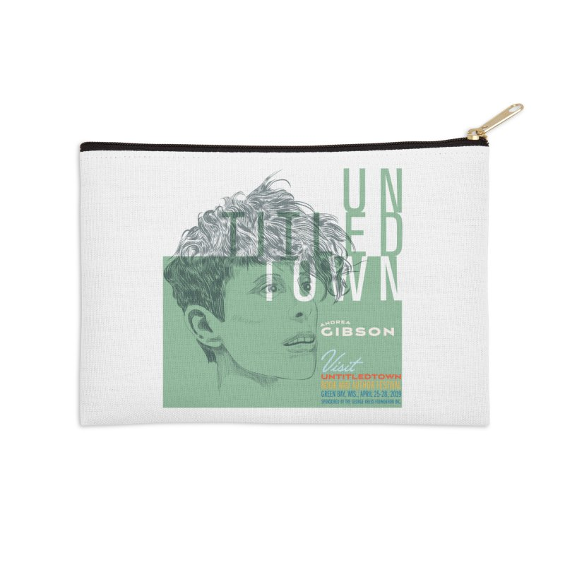 Andrea Gibson at UntitledTown Accessories Zip Pouch by UntitledTown Store