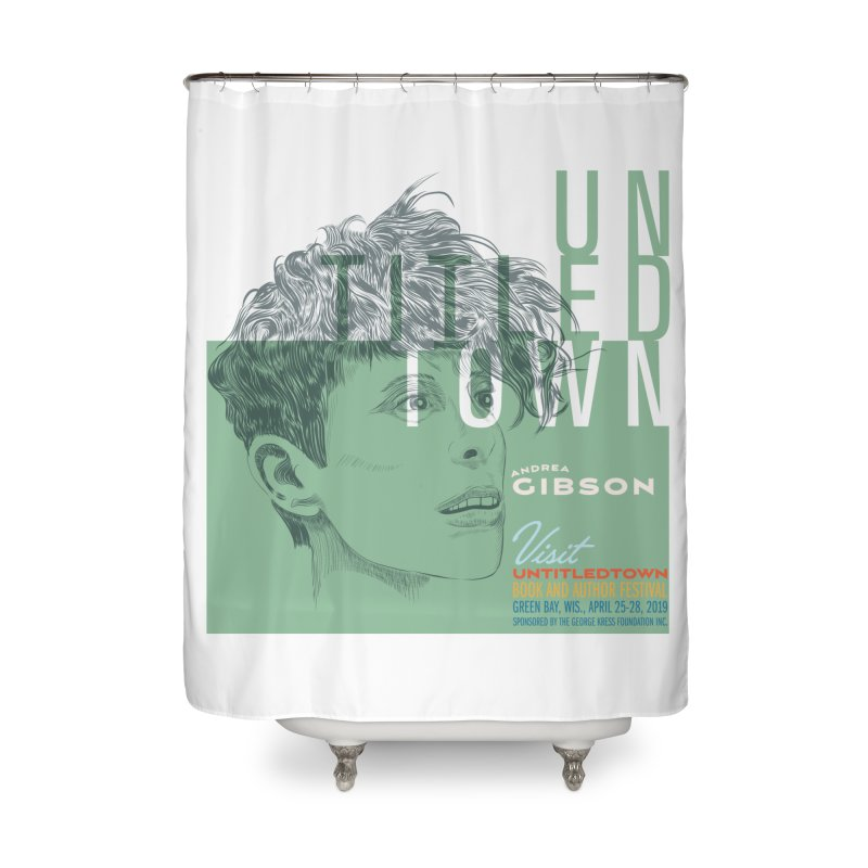 Andrea Gibson at UntitledTown Home Shower Curtain by UntitledTown Store