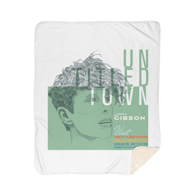 Andrea Gibson at UntitledTown Home Blanket by UntitledTown Store