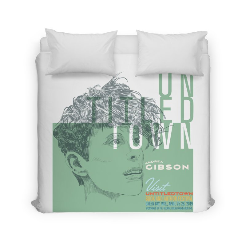 Andrea Gibson at UntitledTown Home Duvet by UntitledTown Store