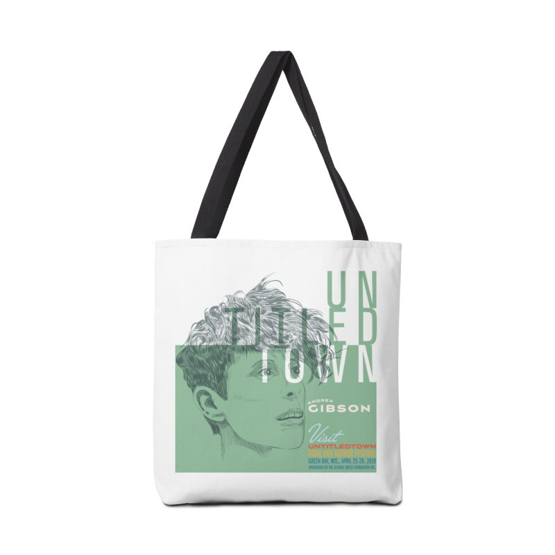 Andrea Gibson at UntitledTown Accessories Tote Bag Bag by UntitledTown Store
