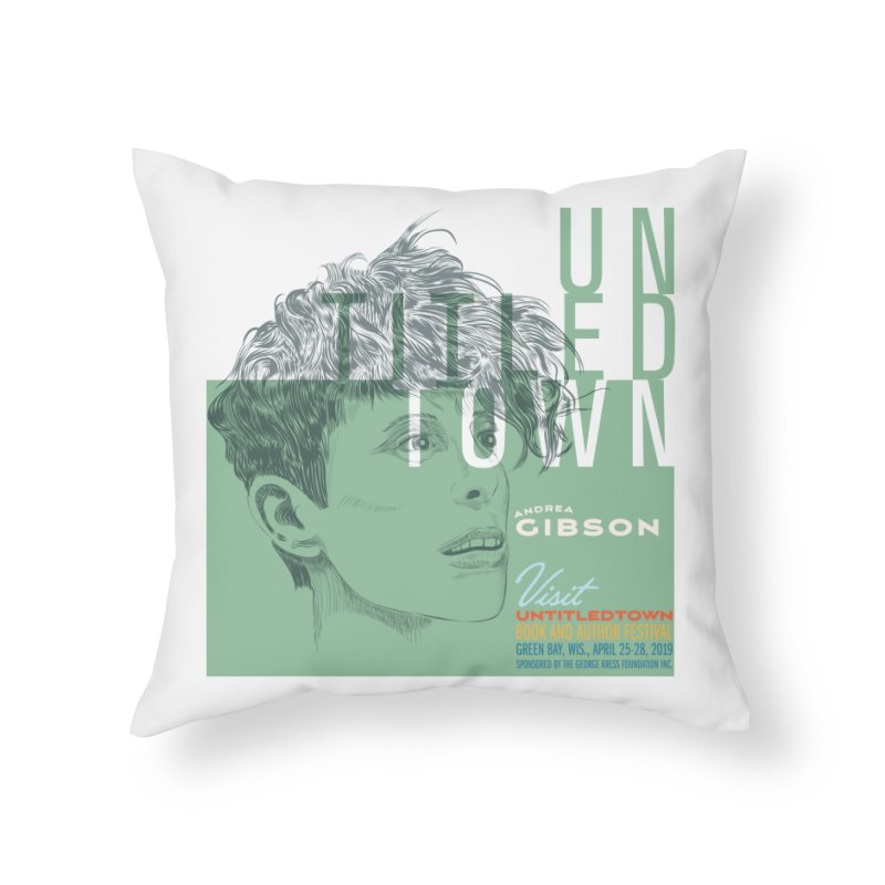 Andrea Gibson at UntitledTown Home Throw Pillow by UntitledTown Store