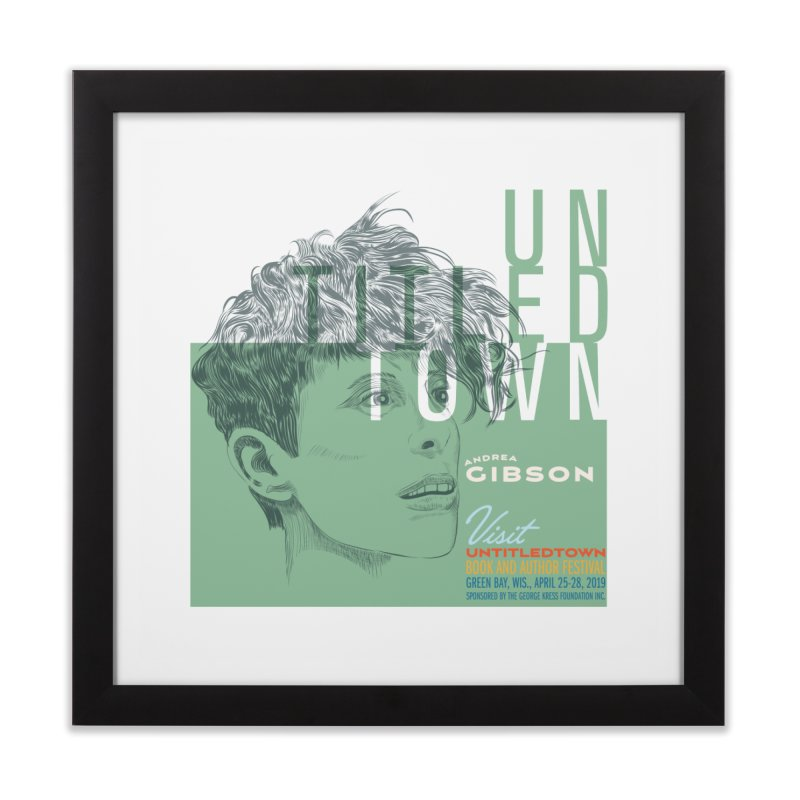 Andrea Gibson at UntitledTown Home Framed Fine Art Print by UntitledTown Store