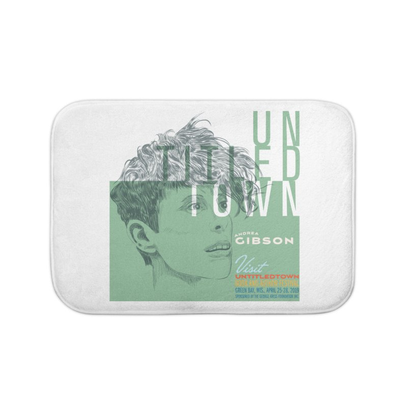 Andrea Gibson at UntitledTown Home Bath Mat by UntitledTown Store