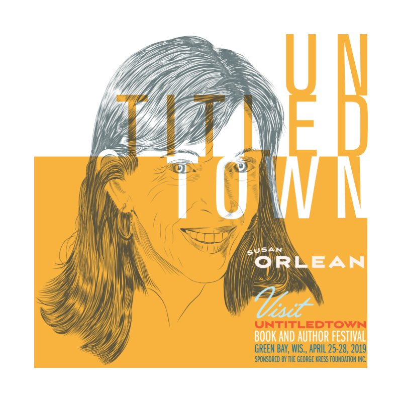 Susan Orlean at UntitledTown Accessories Notebook by UntitledTown Store
