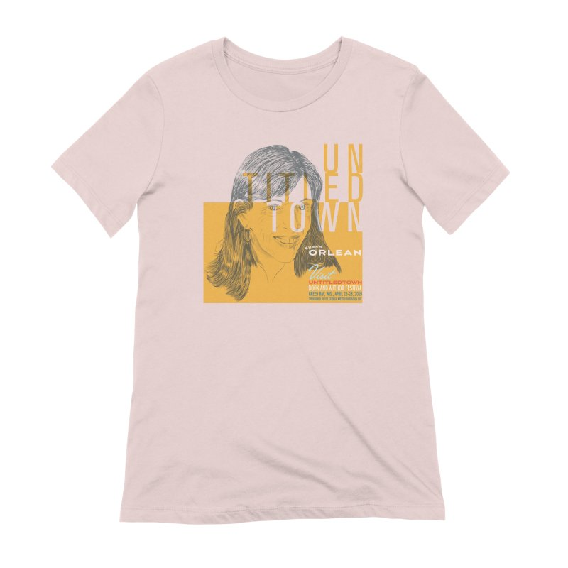 Susan Orlean at UntitledTown Women's Extra Soft T-Shirt by UntitledTown Store