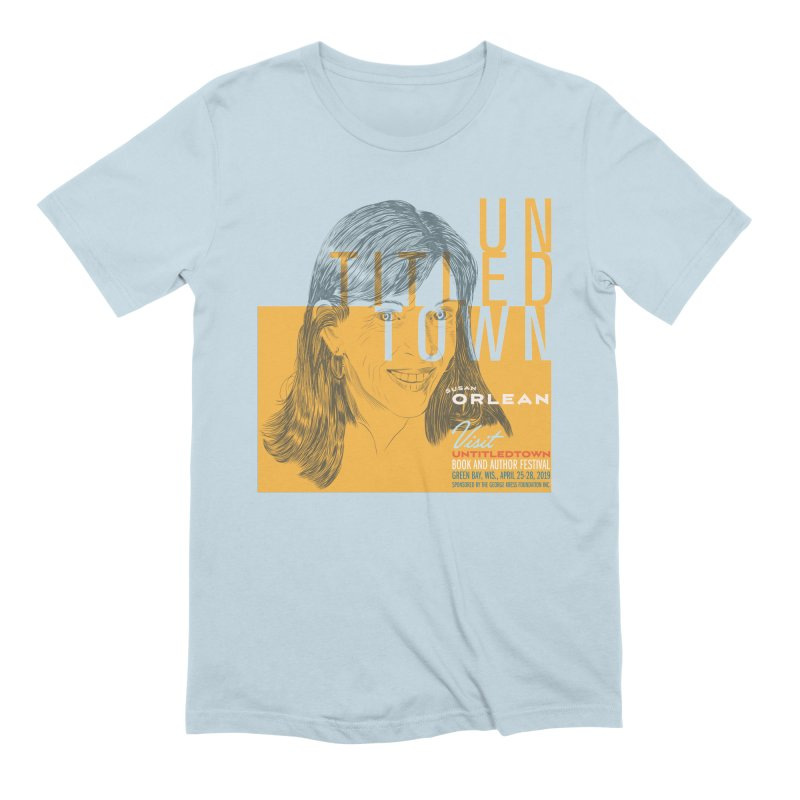 Susan Orlean at UntitledTown Men's Extra Soft T-Shirt by UntitledTown Store