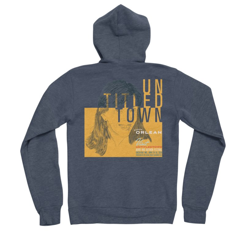 Susan Orlean at UntitledTown Men's Sponge Fleece Zip-Up Hoody by UntitledTown Store