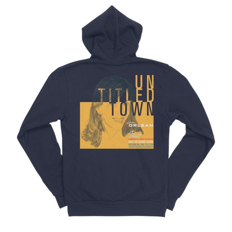 Susan Orlean at UntitledTown Men's Sponge Fleece Zip-Up Hoody by UntitledTown Store
