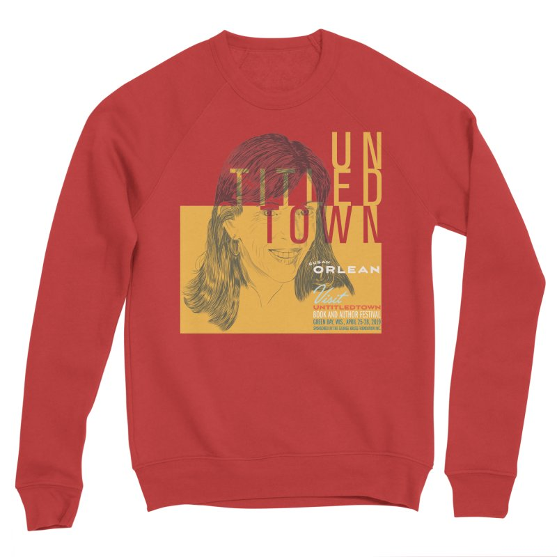 Susan Orlean at UntitledTown Men's Sponge Fleece Sweatshirt by UntitledTown Store