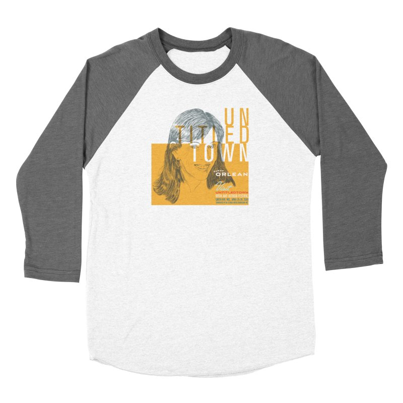 Susan Orlean at UntitledTown Men's Baseball Triblend Longsleeve T-Shirt by UntitledTown Store