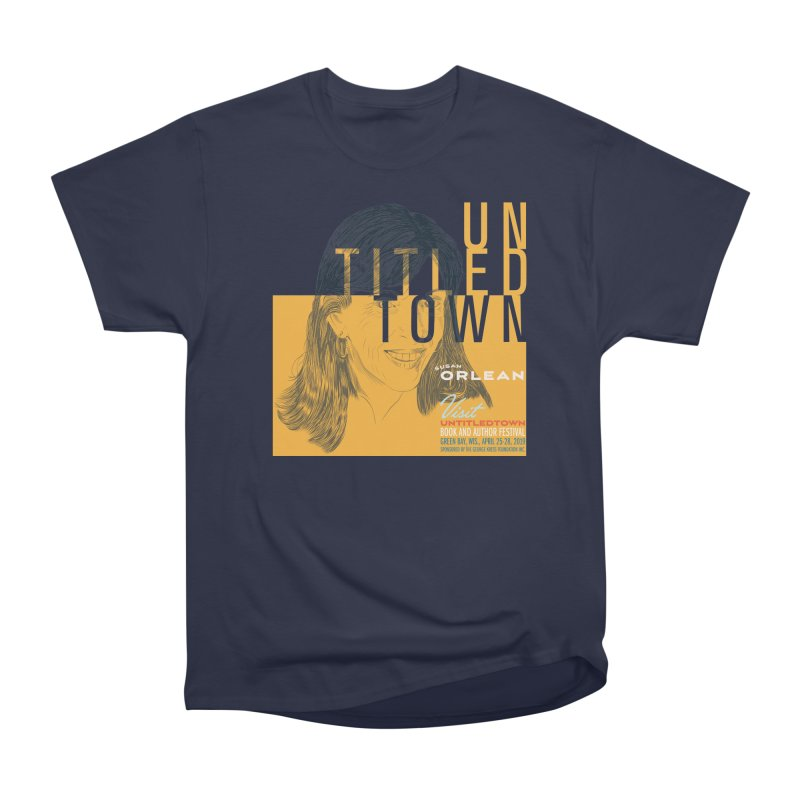 Susan Orlean at UntitledTown Men's Heavyweight T-Shirt by UntitledTown Store