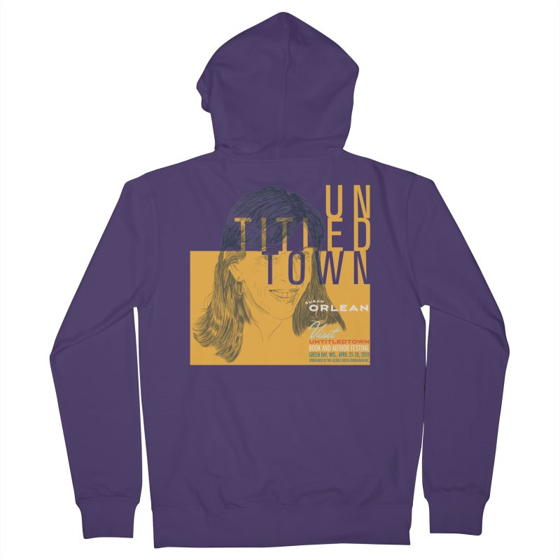 Susan Orlean at UntitledTown Women's French Terry Zip-Up Hoody by UntitledTown Store