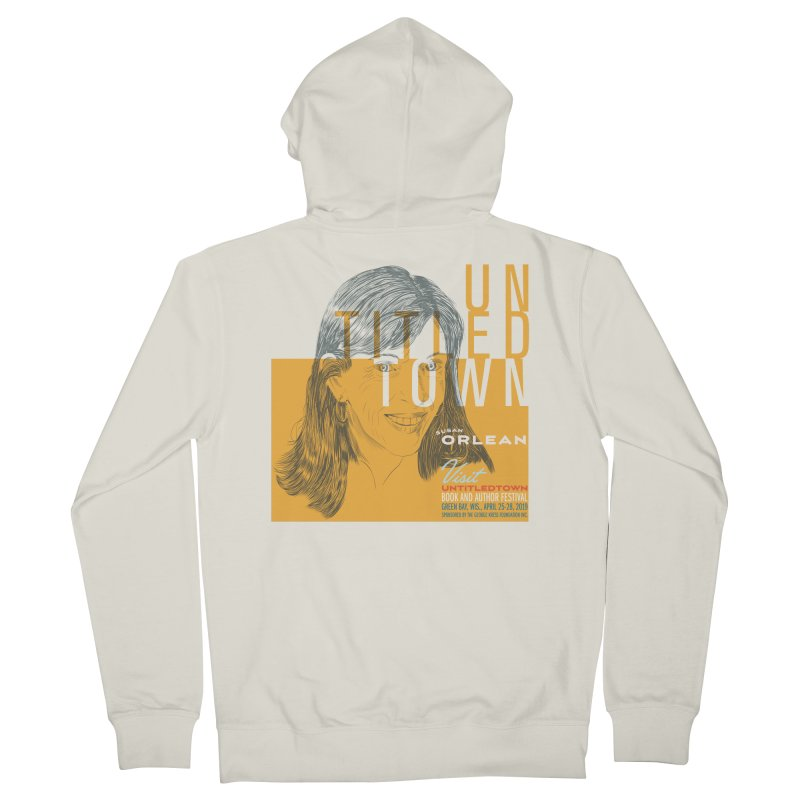 Susan Orlean at UntitledTown Men's French Terry Zip-Up Hoody by UntitledTown Store