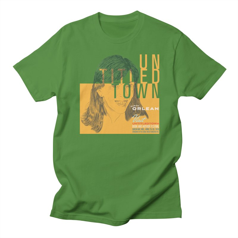 Susan Orlean at UntitledTown Women's Regular Unisex T-Shirt by UntitledTown Store