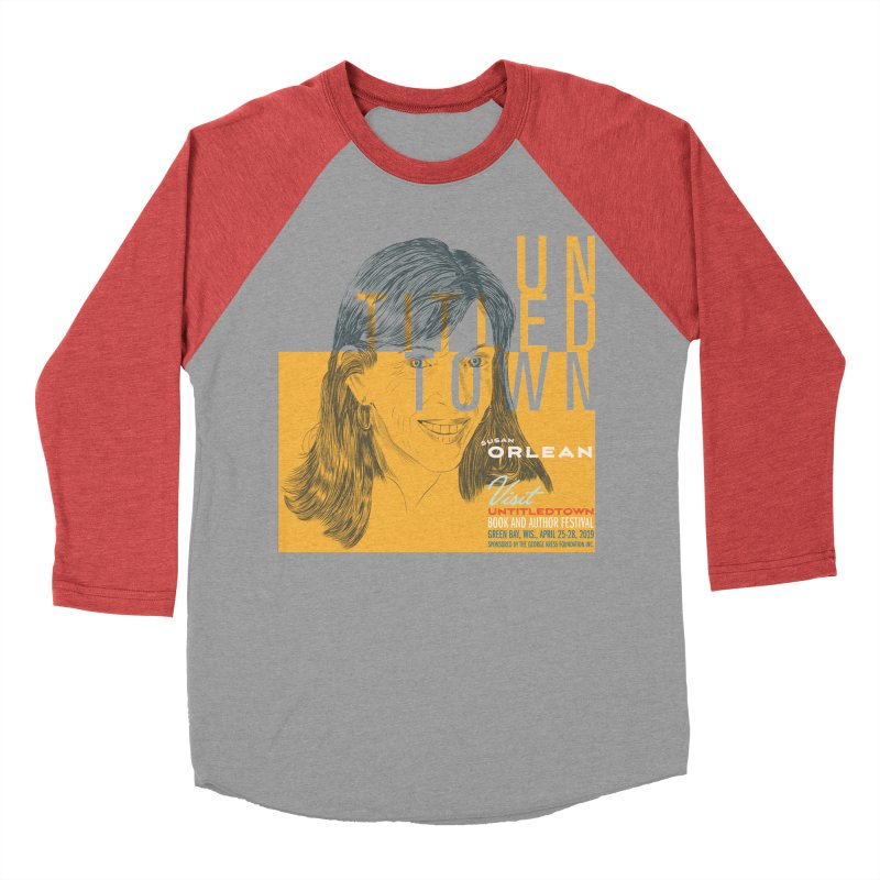 Susan Orlean at UntitledTown Women's Baseball Triblend Longsleeve T-Shirt by UntitledTown Store