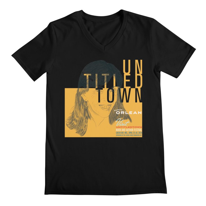 Susan Orlean at UntitledTown Men's Regular V-Neck by UntitledTown Store