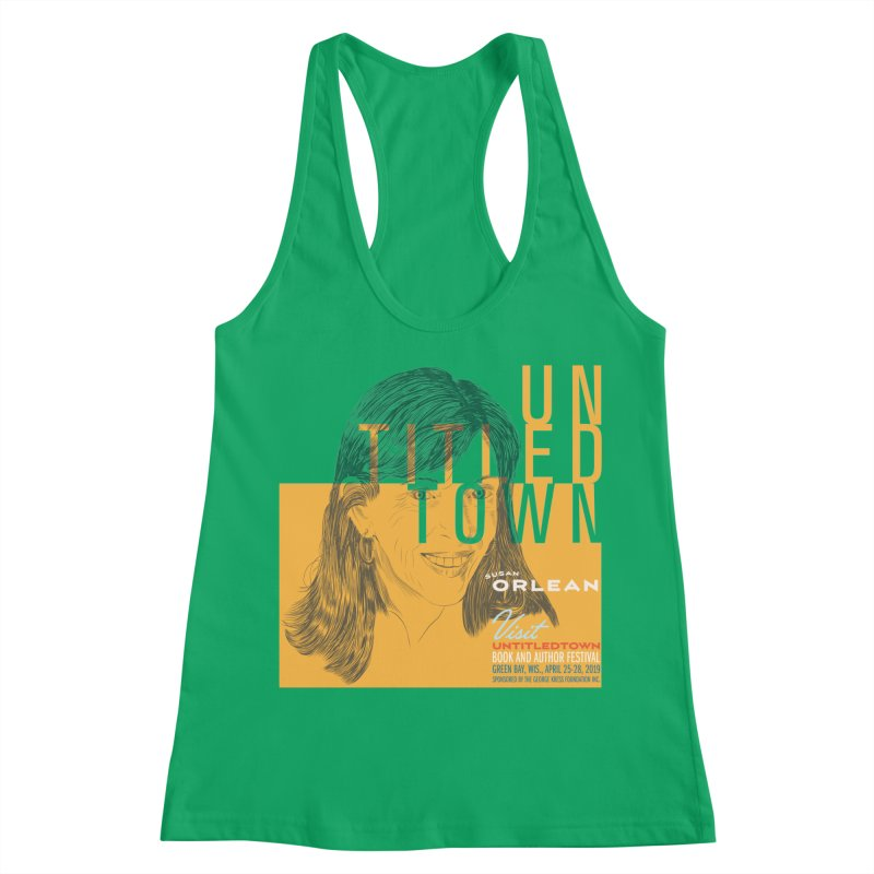 Susan Orlean at UntitledTown Women's Racerback Tank by UntitledTown Store