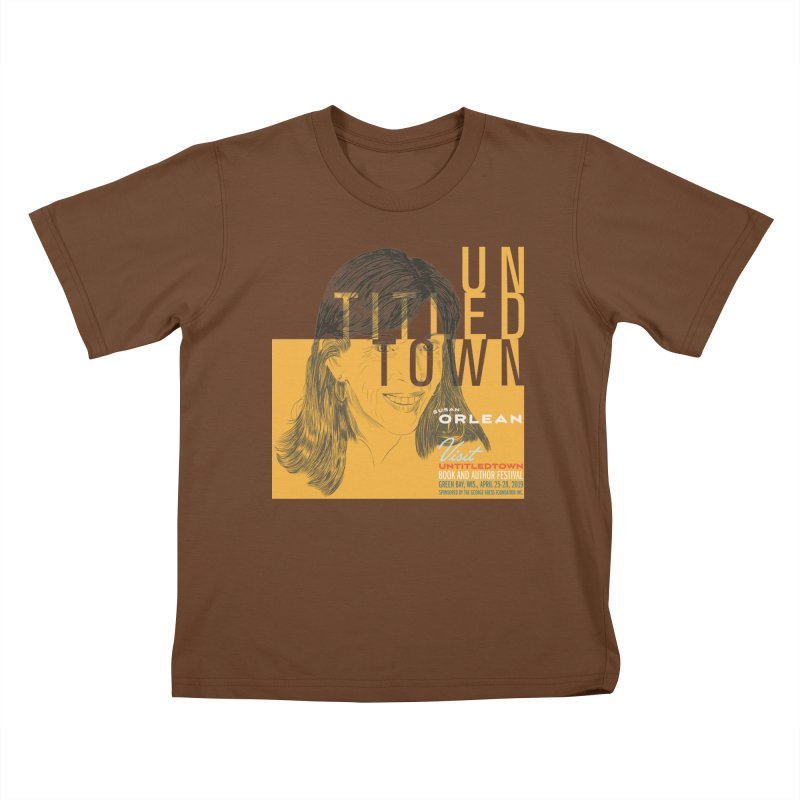 Susan Orlean at UntitledTown Kids T-Shirt by UntitledTown Store