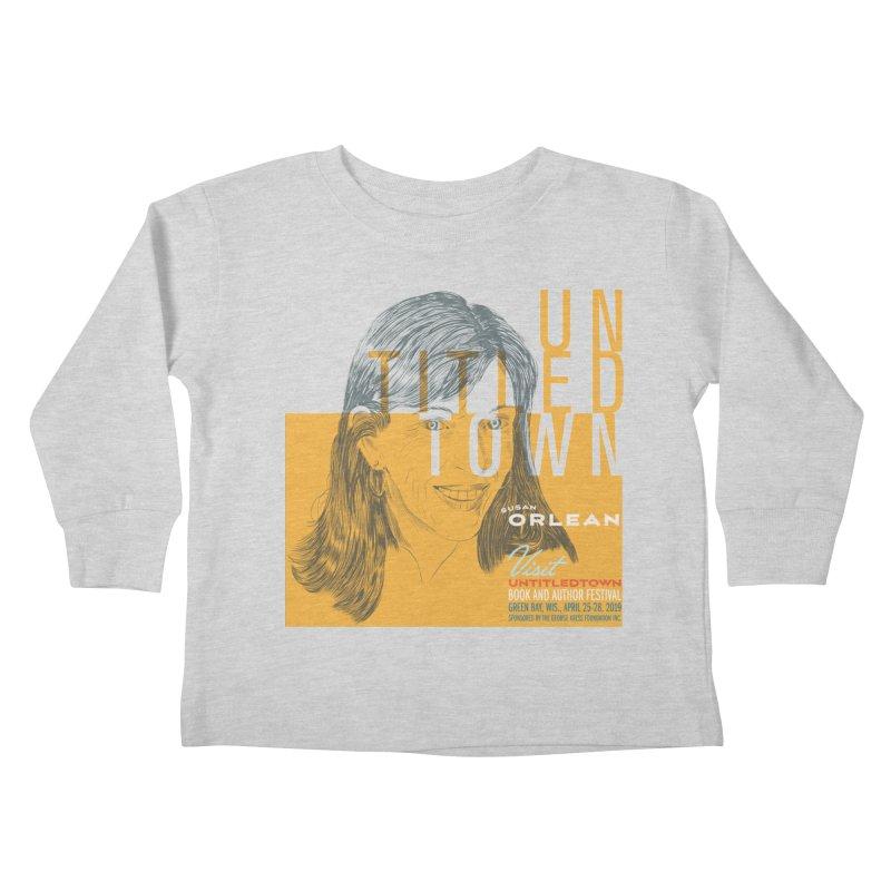 Susan Orlean at UntitledTown Kids Toddler Longsleeve T-Shirt by UntitledTown Store
