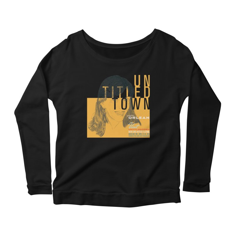 Susan Orlean at UntitledTown Women's Scoop Neck Longsleeve T-Shirt by UntitledTown Store