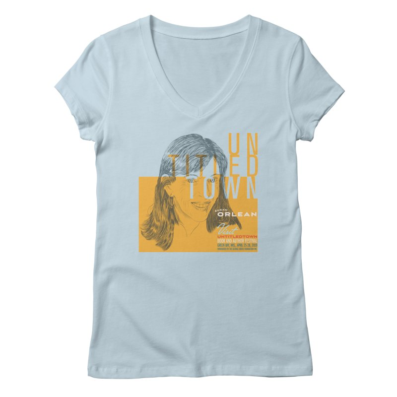 Susan Orlean at UntitledTown Women's Regular V-Neck by UntitledTown Store