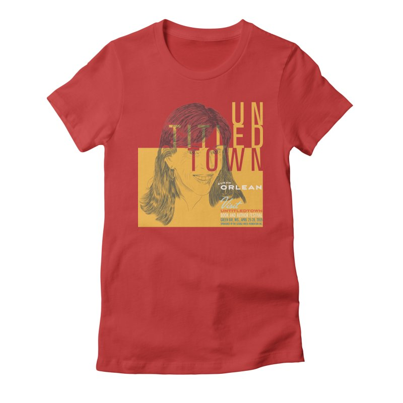 Susan Orlean at UntitledTown Women's Fitted T-Shirt by UntitledTown Store