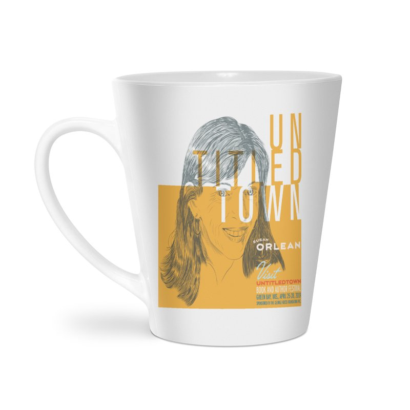 Susan Orlean at UntitledTown Accessories Latte Mug by UntitledTown Store