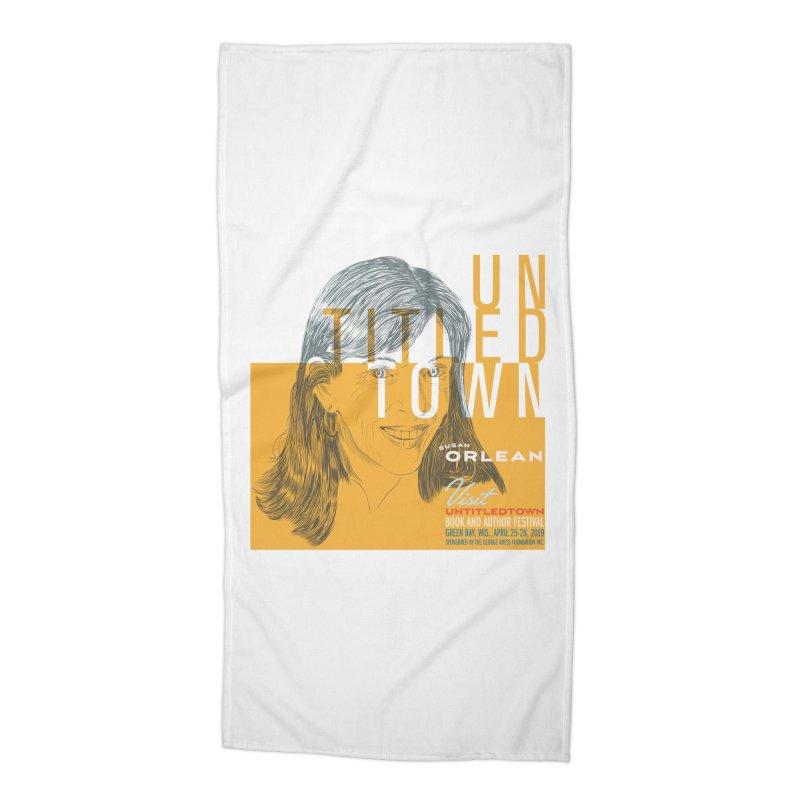 Susan Orlean at UntitledTown Accessories Beach Towel by UntitledTown Store