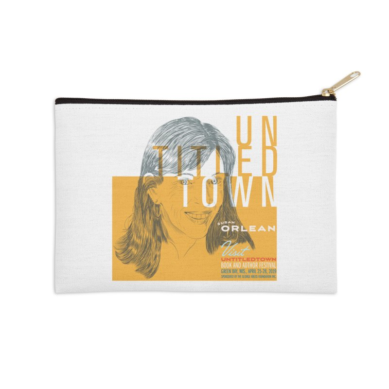 Susan Orlean at UntitledTown Accessories Zip Pouch by UntitledTown Store
