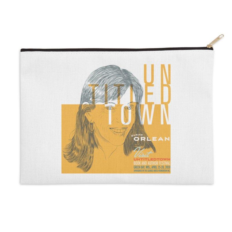 Susan Orlean at UntitledTown Accessories Zip Pouch by UntitledTown Store