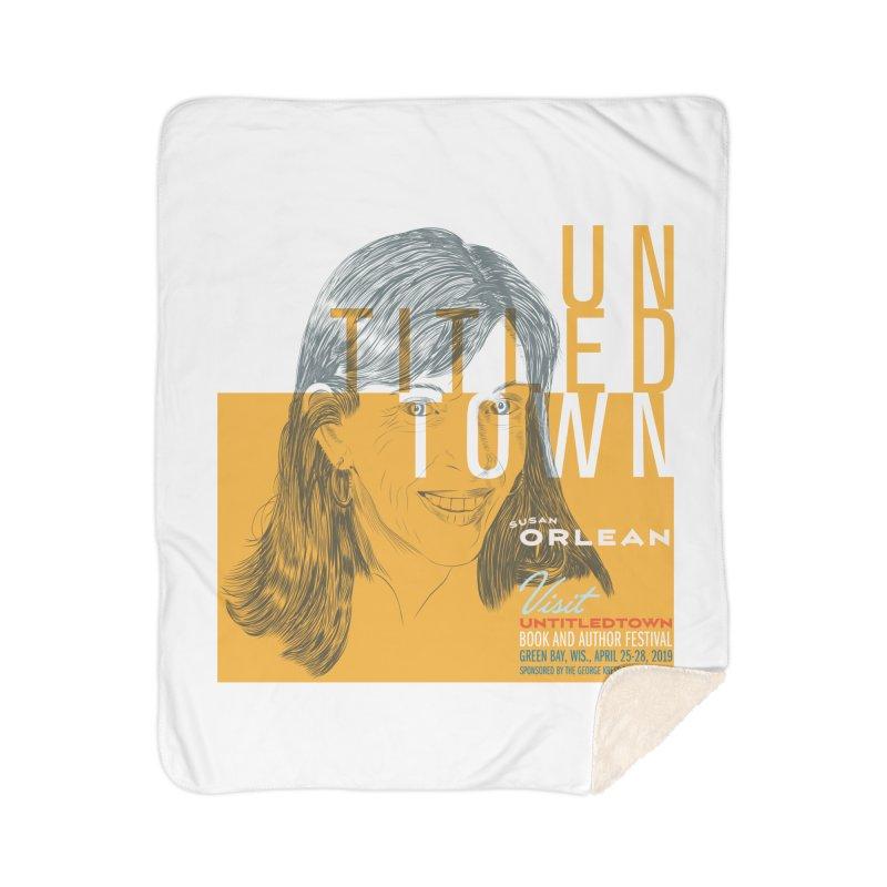 Susan Orlean at UntitledTown Home Sherpa Blanket Blanket by UntitledTown Store