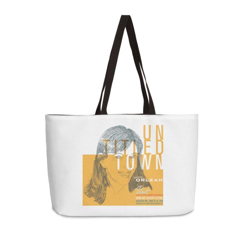 Susan Orlean at UntitledTown Accessories Weekender Bag Bag by UntitledTown Store