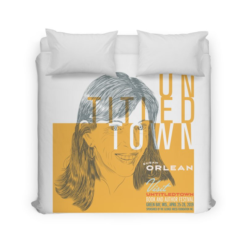 Susan Orlean at UntitledTown Home Duvet by UntitledTown Store