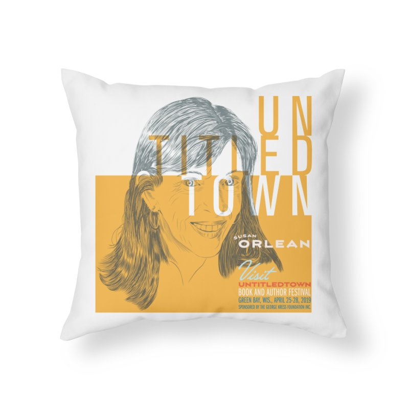 Susan Orlean at UntitledTown Home Throw Pillow by UntitledTown Store