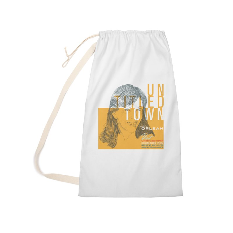 Susan Orlean at UntitledTown Accessories Laundry Bag Bag by UntitledTown Store