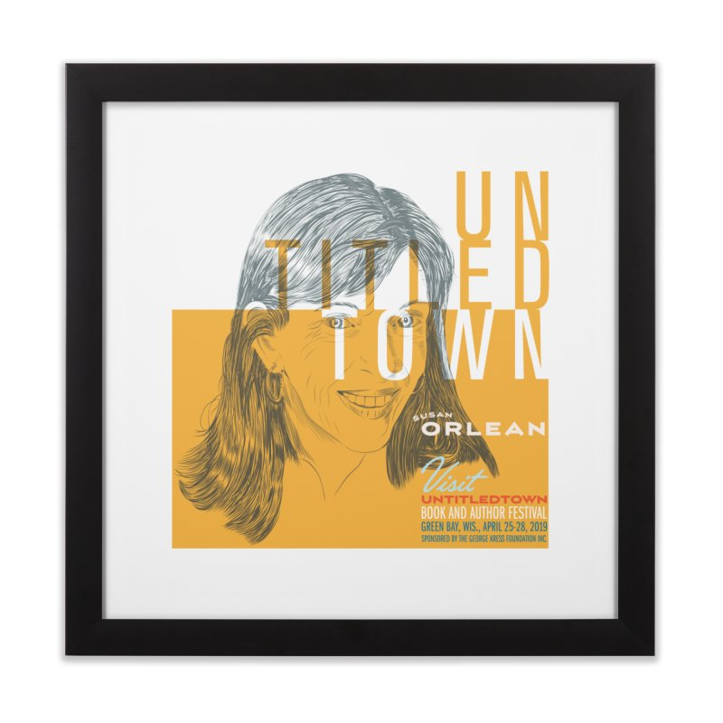 Susan Orlean at UntitledTown Home Framed Fine Art Print by UntitledTown Store