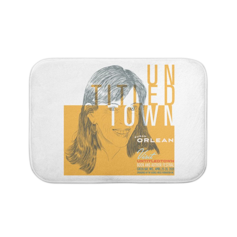 Susan Orlean at UntitledTown Home Bath Mat by UntitledTown Store