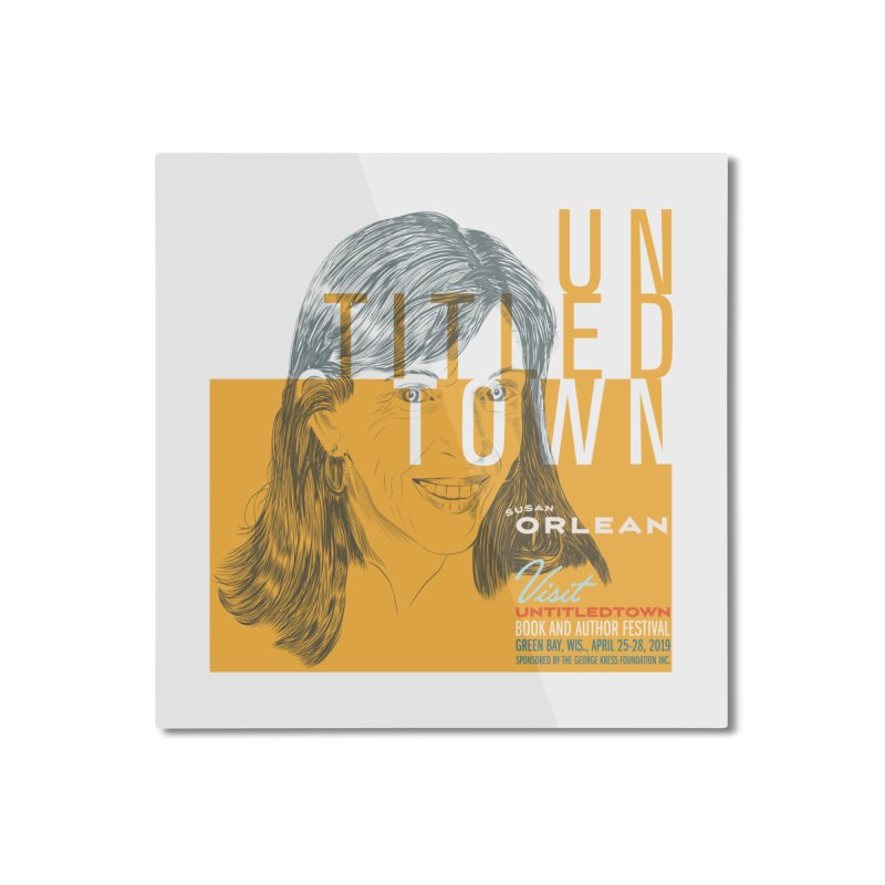 Susan Orlean at UntitledTown Home Mounted Aluminum Print by UntitledTown Store