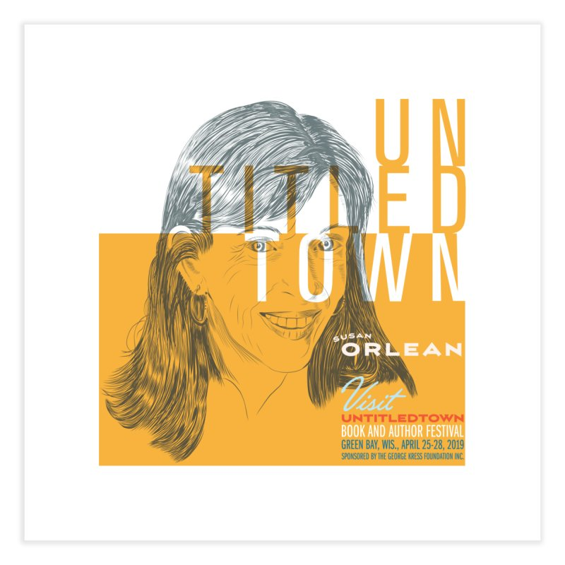 Susan Orlean at UntitledTown Home Fine Art Print by UntitledTown Store