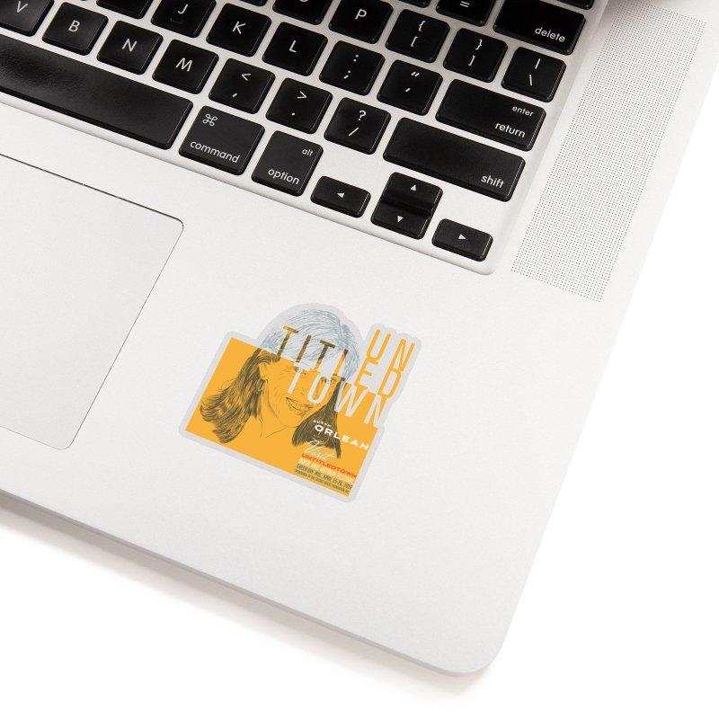 Susan Orlean at UntitledTown Accessories Sticker by UntitledTown Store