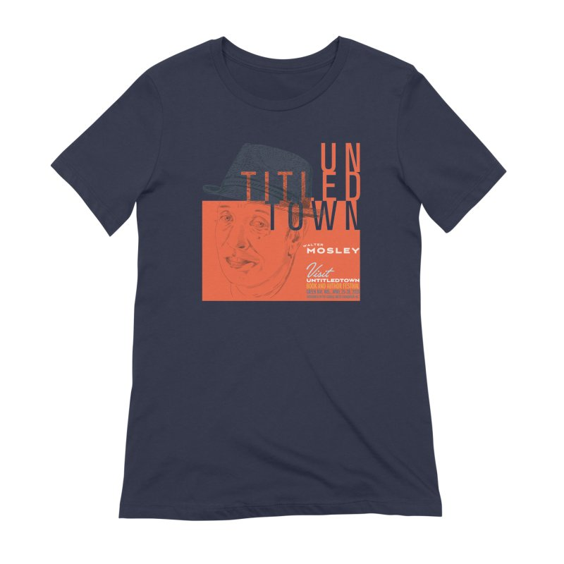 Walter Mosley at UntitledTown Women's Extra Soft T-Shirt by UntitledTown Store