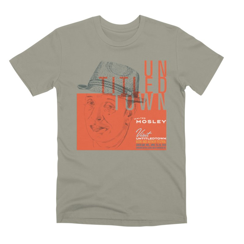 Walter Mosley at UntitledTown Men's Premium T-Shirt by UntitledTown Store
