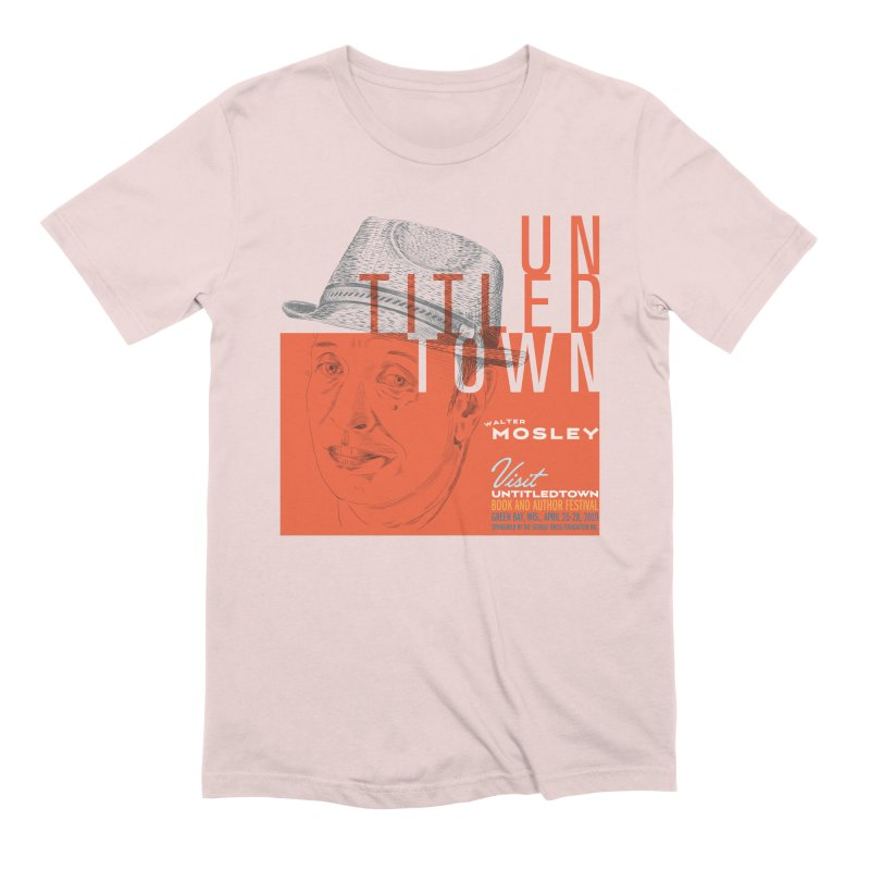Walter Mosley at UntitledTown Men's Extra Soft T-Shirt by UntitledTown Store