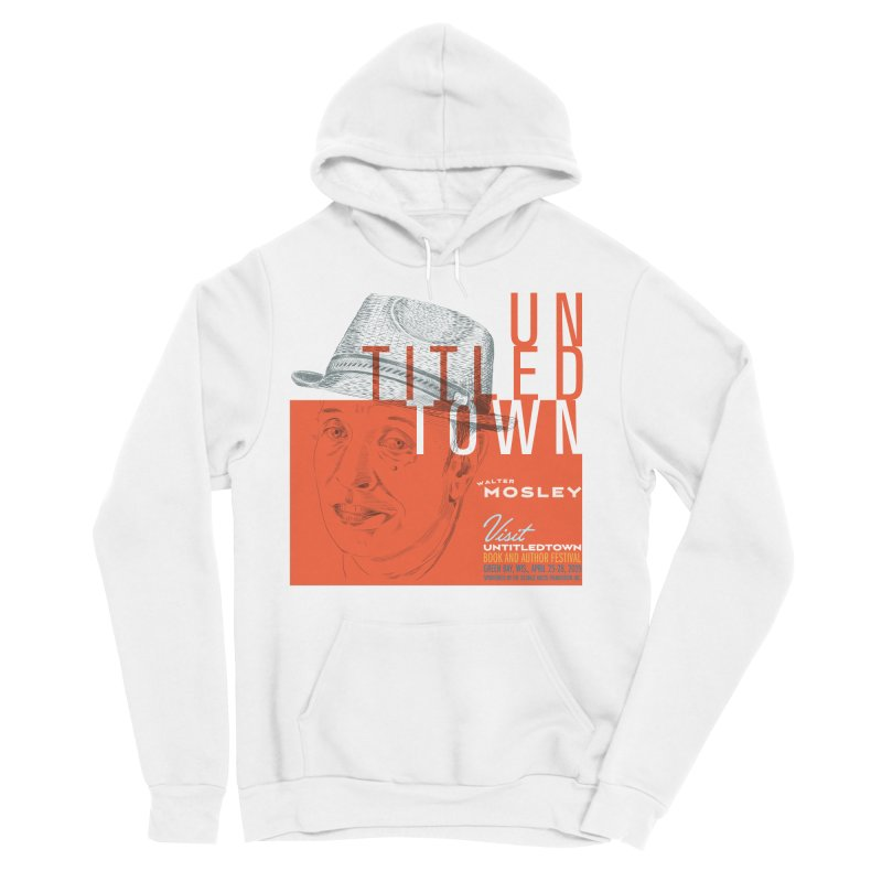 Walter Mosley at UntitledTown Women's Sponge Fleece Pullover Hoody by UntitledTown Store