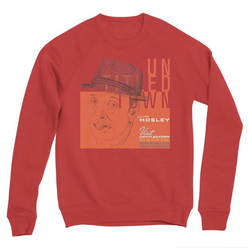 Walter Mosley at UntitledTown Men's Sponge Fleece Sweatshirt by UntitledTown Store